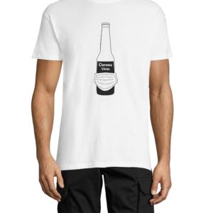 """Marškinėliai su dizainu """"Corona alus"""""""