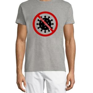 """Marškinėliai su dizainu """"STOP Corona"""""""