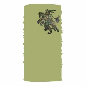 Bandana multifunkcinė skarelė kaukė khaki su vyčiu